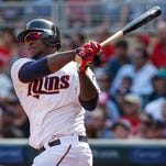 Miguel Sano hit a two-run home run that gave the Twins