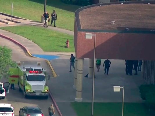 AP SCHOOL SHOOTING-TEXAS A USA TX
