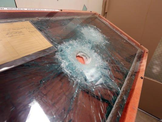 Brinks Robbery evidence on display