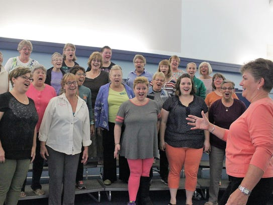 Crystal Chords and The Mark Twain Chorus will perform