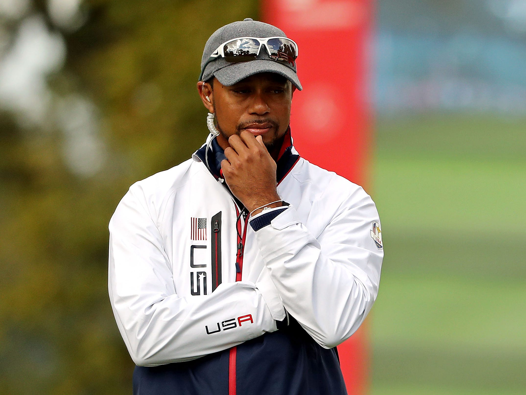 tiger woods  ryder cup position within reach after the