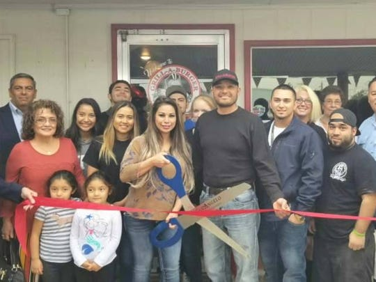 Grill-A-Burger celebrated its first anniversary on Nov. 13, 2017, as Eric and Kathy Martinez were joined by family and friends at their restaurant located at 1205 N. Chadbourne St. in San Angelo.