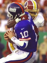 A Giants-Redskins 8:30 p.m. game will serve as a Thanksgiving