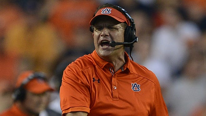 Auburn coach Gus Malzahn was a featured speaker the Montgomery Country Club on Tuesday.