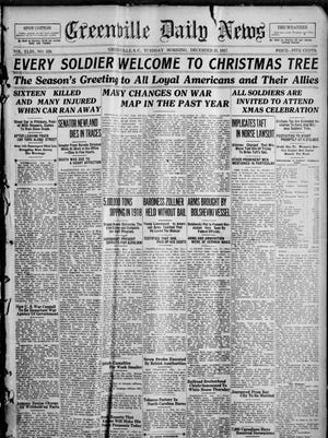 The Greenville Daily News on Christmas Day in 1917