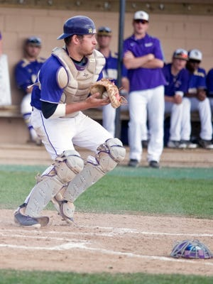 Spencer Bonofiglio is hitting .429 through four games for Albion College.