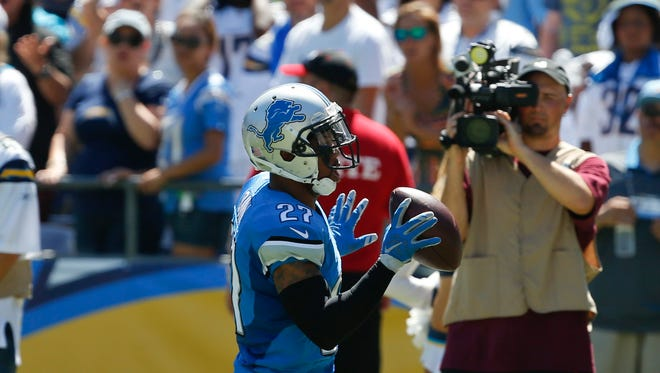 Lions free safety Glover Quin