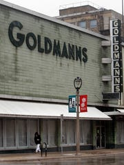 The popular Milwaukee store Goldmann's stands gutted