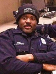 Detroit Police Officer Myron Jarrett was killed Friday,
