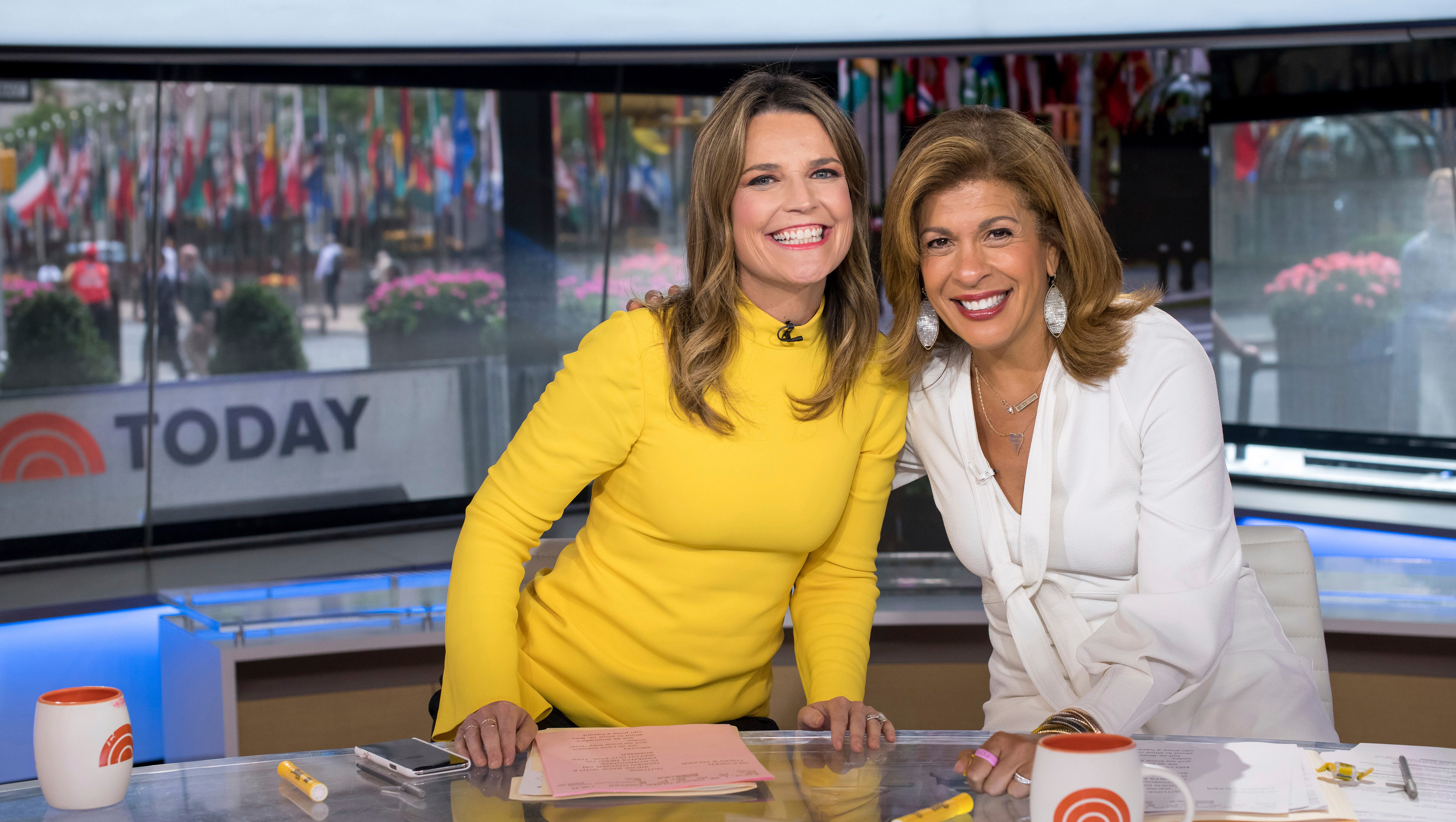 Hoda Kotb Savannah Guthrie On State Of Today After Lauer Scandal