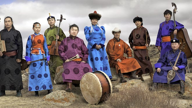 AnDa Union is a 10 member group that will perform at Light Hall.
