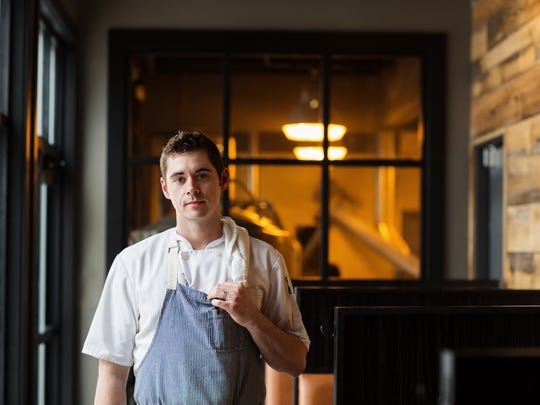 Benjamin Smart, the executive chef at Big Grove Brewery