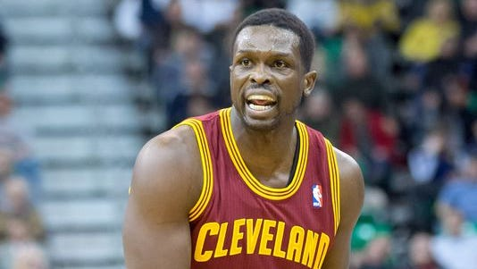 Luol Deng with the Cavaliers.