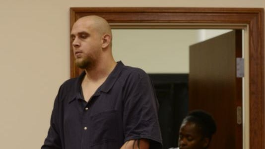 Clayton Nelson at his preliminary hearing in July.