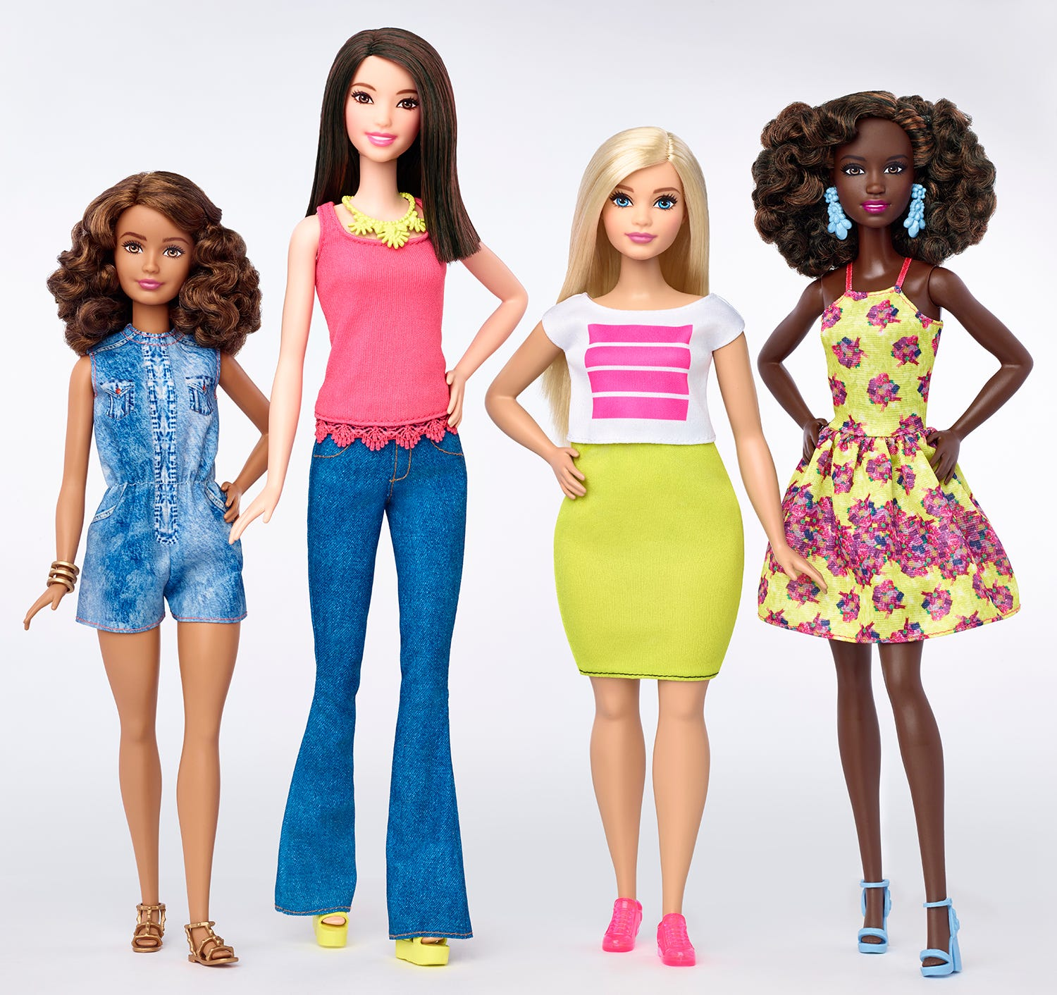 Barbie's New Body: Tall, Petite, andCurvy