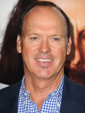 Michael Keaton, shown on July 31, knows a little bit about wearing the cape and cowl.