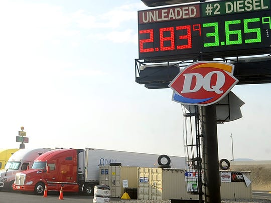Truckers passing through Fernley may face higher diesel