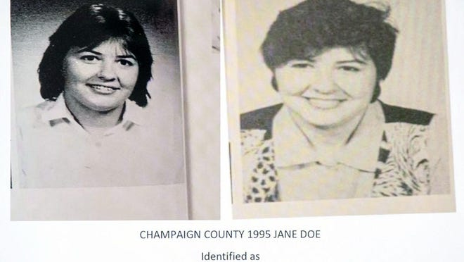 The body of Keri Lyn Wyant, born in 1971 in Galesburg, was identified Tuesday by the Champaign County Sheriff's Office/Coroner's Office. Her remains were discovered May 1, 1995, in a farm field near Thomasboro.