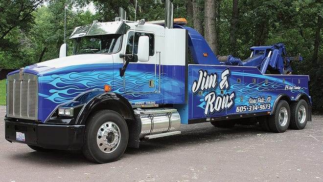 Jim & Ron's entered this winning tow truck in a national contest.