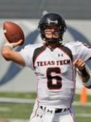 Graham Harrell was a record-setting quarterback at Texas Tech from 2004-08.