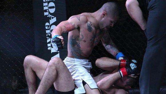 Cruz's arrival on the professional mixed martial arts