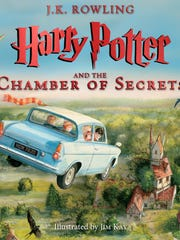 A new illustrated edition of 'Harry Potter and the