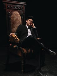 Rupert Spraul plays the title role in the College-Conservatory