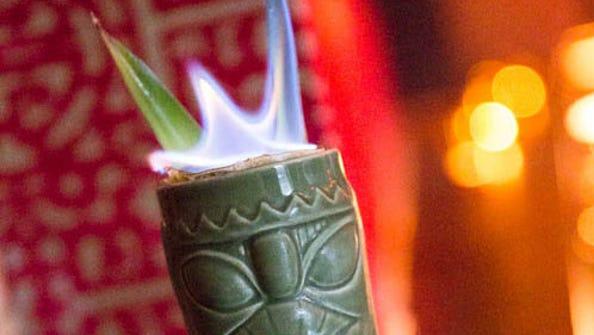 Bootlegger Tiki in Palm Springs, CA creates Tiki-inspired