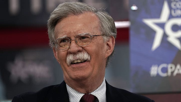 Former ambassador to the United Nations John Bolton