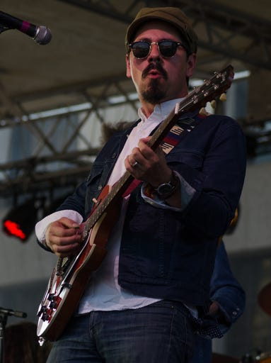 Adrian Quesada of Spanish Gold performs Aug. 14, 2014, at Live on the Green in Nashville.