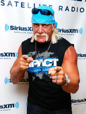 Hulk Hogan said the baseball was his favorite sport growing.