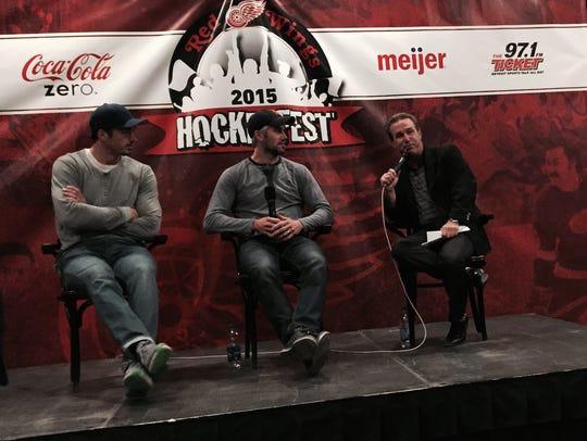 (From left) Jonathan Ericsson, Drew Miller and Ken