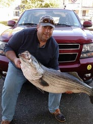 Dan Russo of Allenhurst and an Asbury Park Fishing