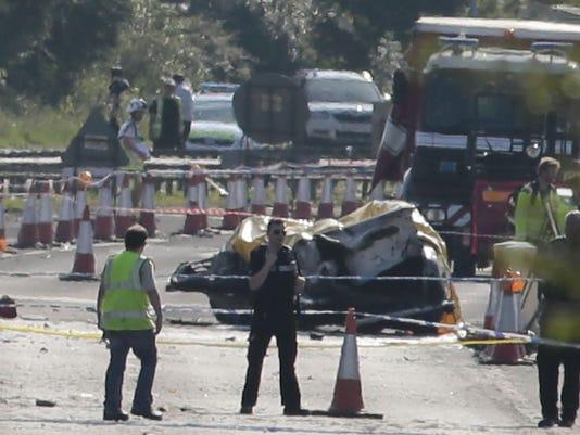 Britain Plane Crash