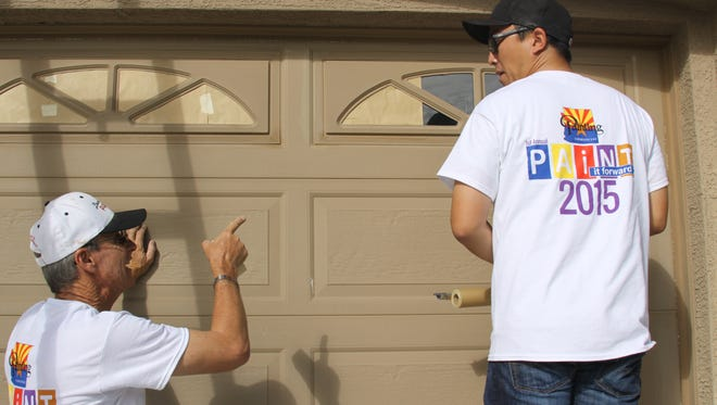 A quality painting company will come to your home to give a quote.