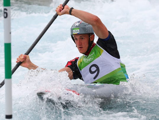 Emotional Smolen Misses Out On Final In Olympic Mens Kayak