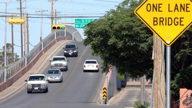 The Carolina Bridge that flies over railroad tracks will be demolished and re-built in El Paso's Lower Valley.