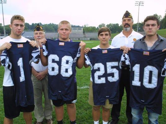GRA GHS Football jerseys