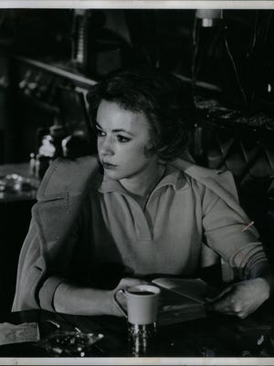 """Piper Laurie in a scene from """"The Hustler."""""""