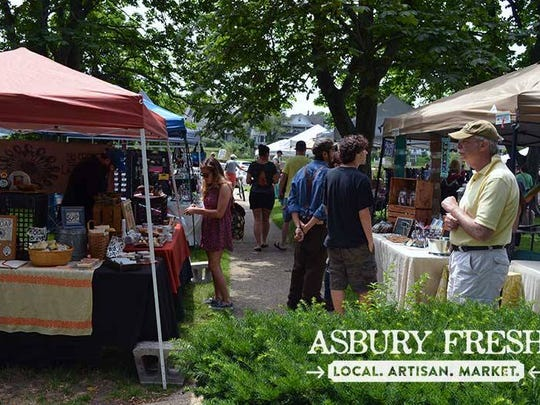 Artisan items and farm-fresh produce will be available during Asbury Fresh's summer markets.