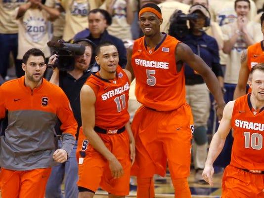 Syracuse Pittsburgh Basketball