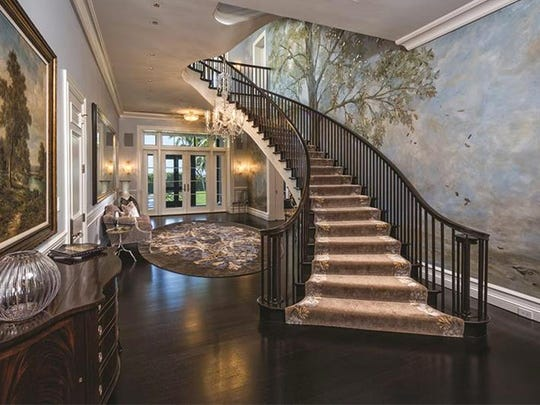 Opulent interior of the home at 2500 Gordon Drive listed for $75 million.