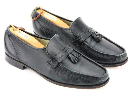 The pair of loafers Michael Jackson wore to rehearse