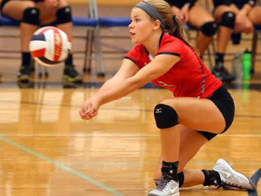 Wauwatosa East Girls Volleyball at Brookfield Central
