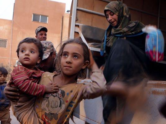 APTOPIX Mideast Jordan Syrian Refugees