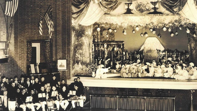 Actors and musicians from the Village performed many plays at the Smalley Theater on the current Skillman Park property in the 1930s.