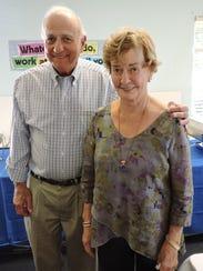 Martin County philanthropists Robert and Carol Weissman,