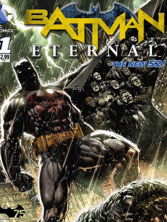 Batma Eternal cover