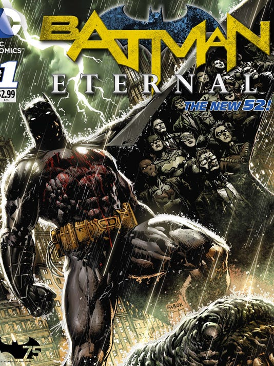 Batma Eternal cover