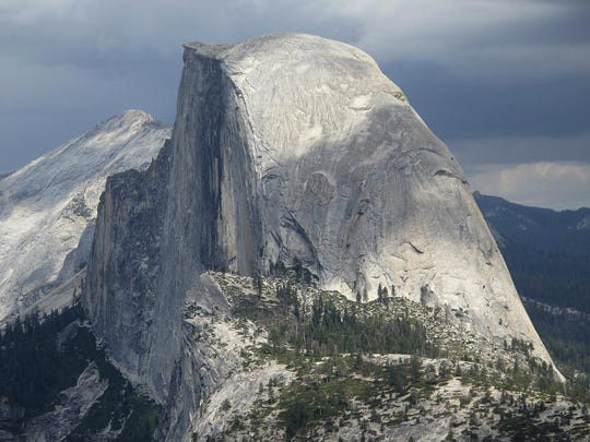 Hiker climbing Yosemite's iconic Half Dome dies in 500 foot fall